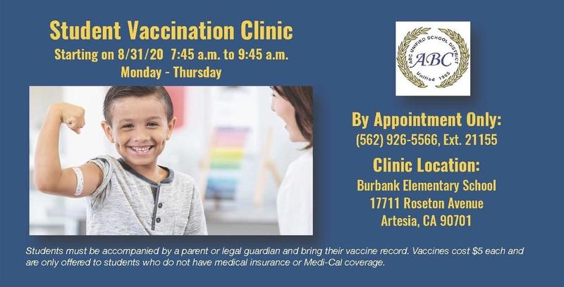 Student Vaccination Clinic