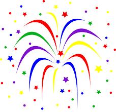 clip art of fireworks