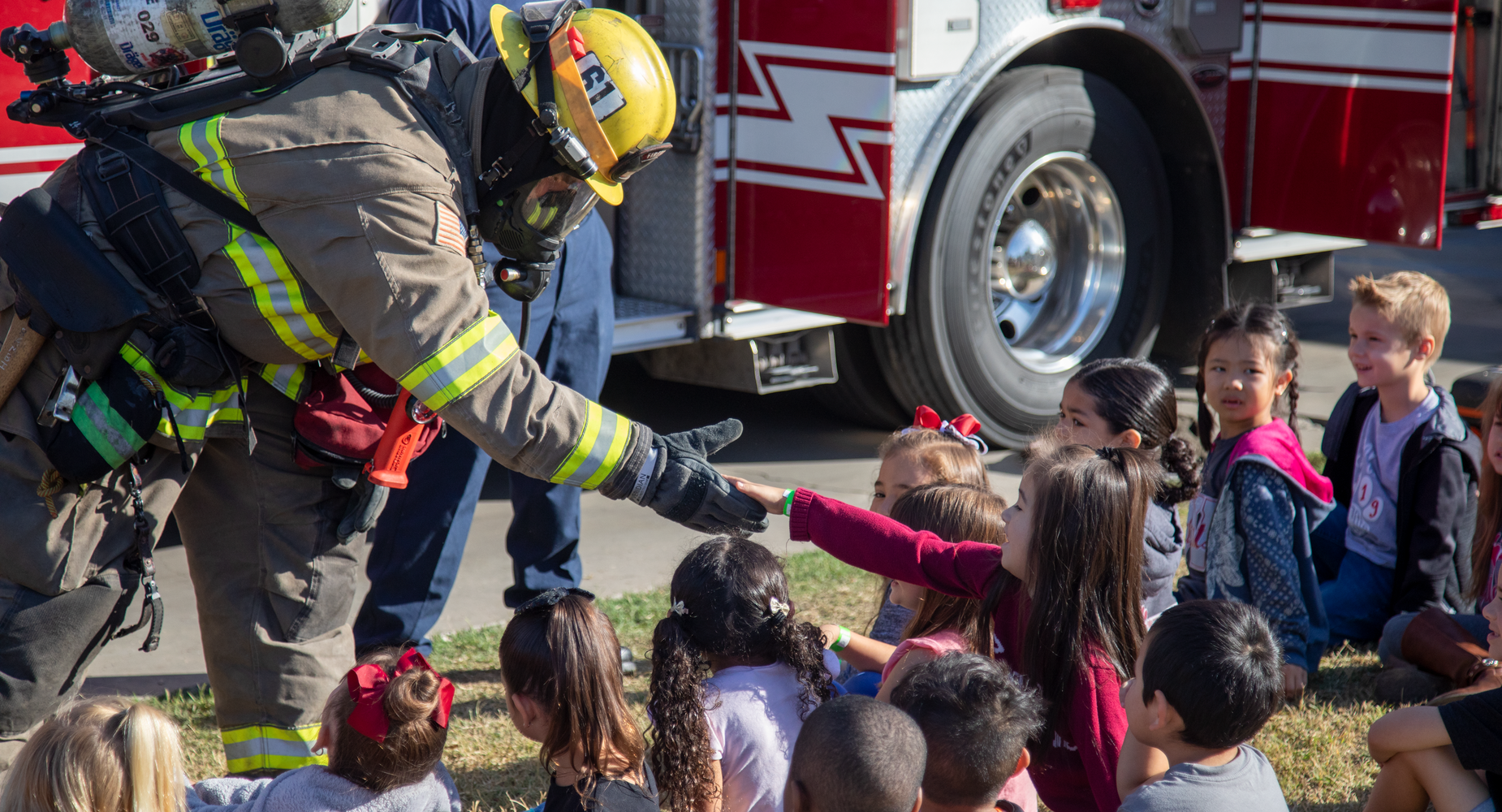Mission Valley Fire Station Field Trip