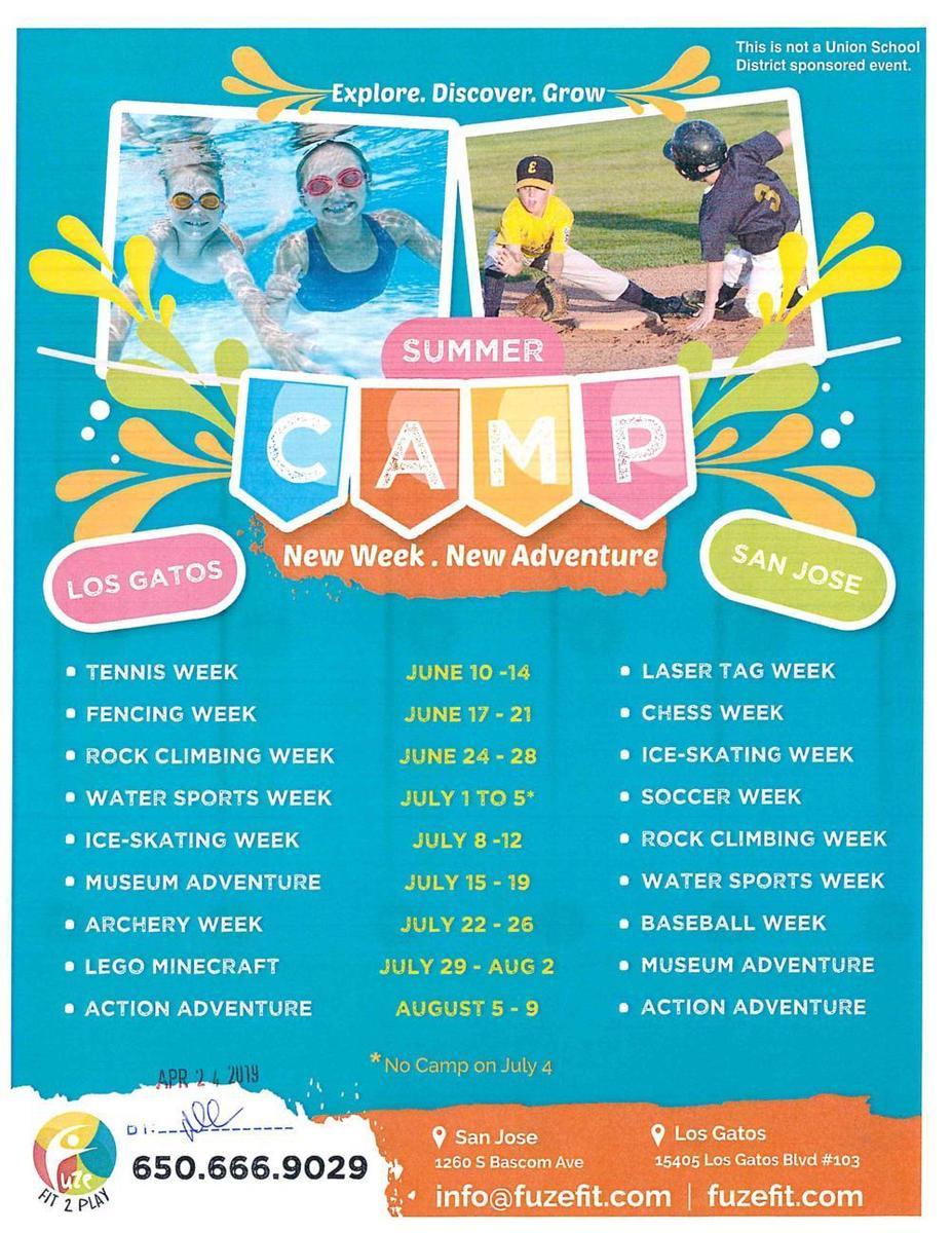Fuzefit Summer Camp