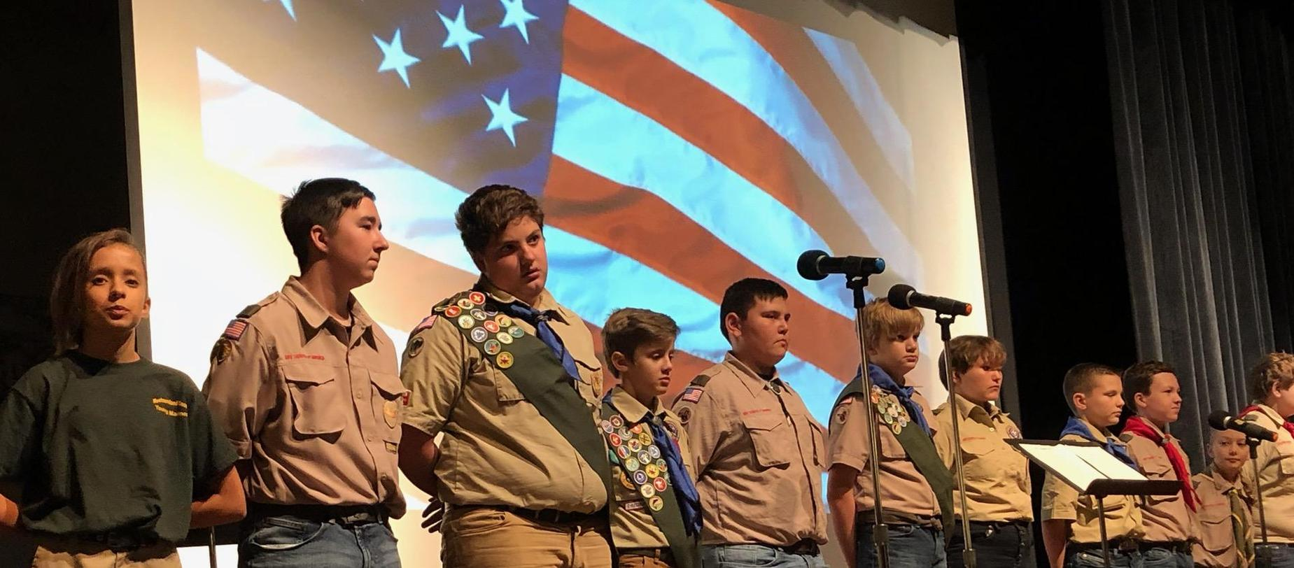 Scouts Honoring Our Veterans