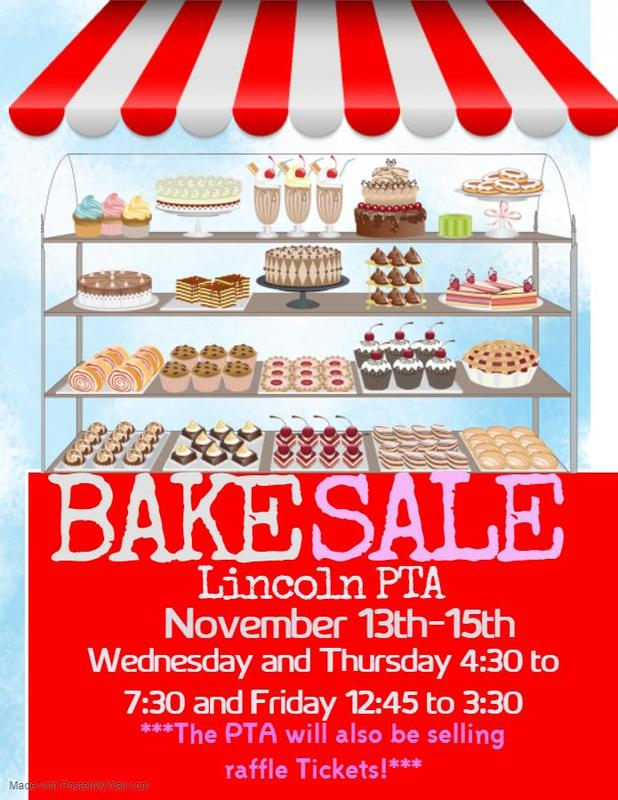 Bake Sale flyer English