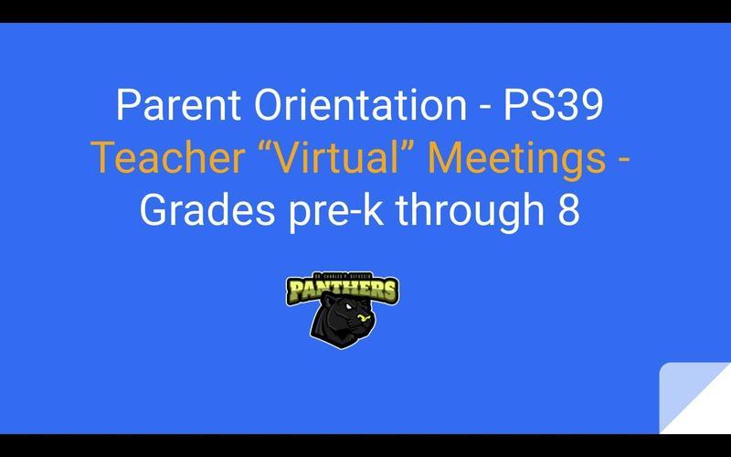 PS39 Teacher Video Links in Slides