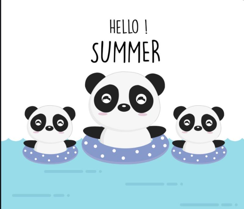 summer panda