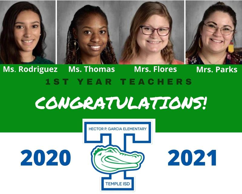 Congratulations to our 1st year teachers!!! Featured Photo