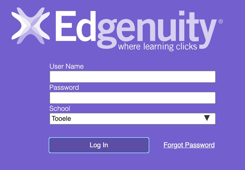 Screenshot of Pathblazer login fields