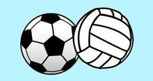 Volleyball and Soccer Ball