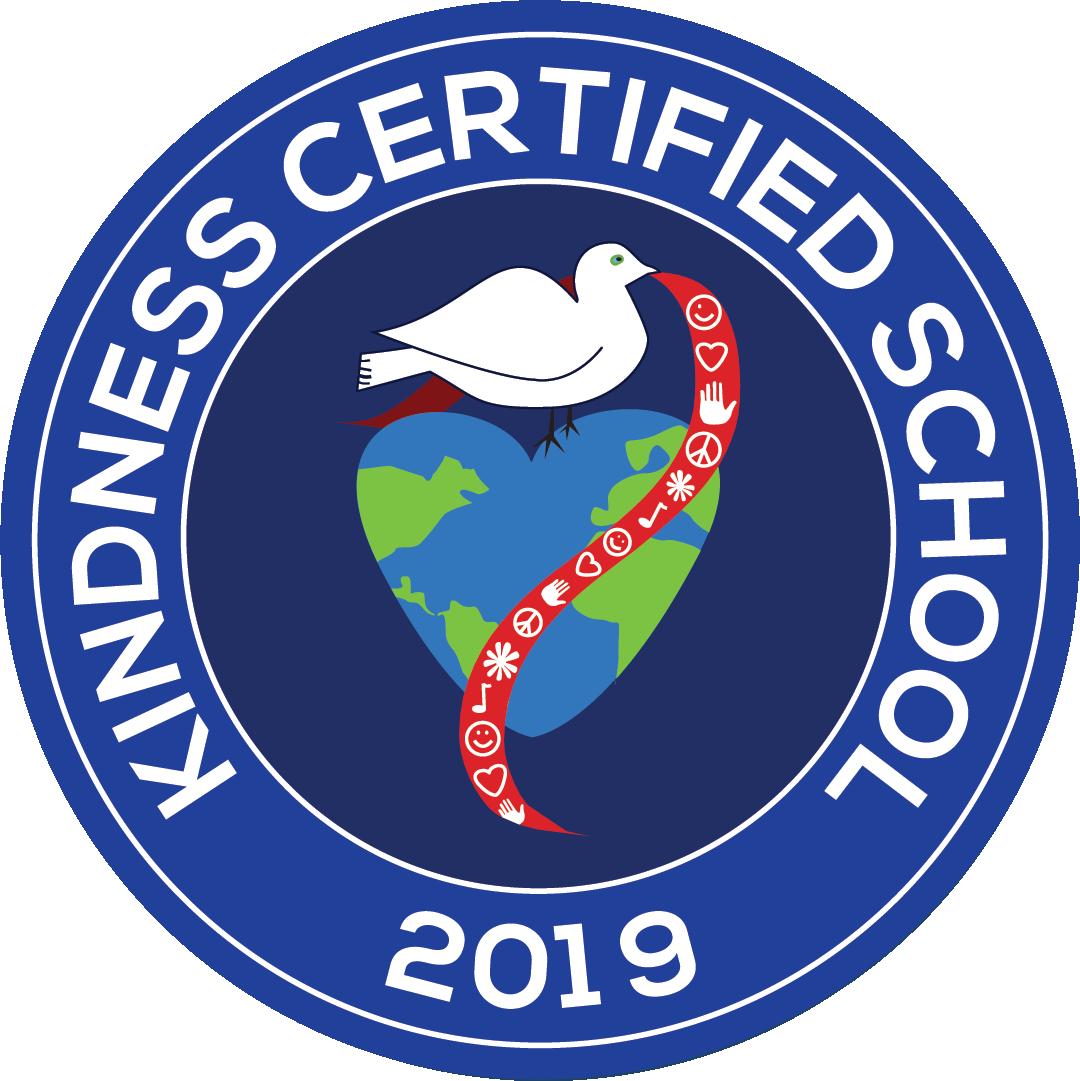 kindness certified school logo 2019