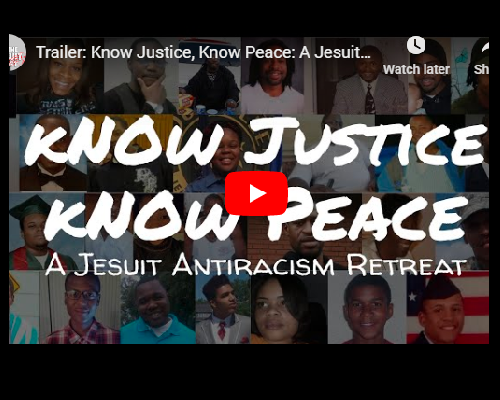 Know Justice, Know Peace: A Jesuit Antiracism Retreat Featured Photo