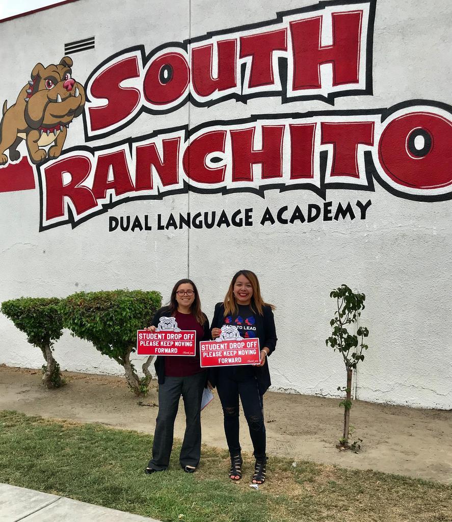 Mrs. Chavez-Diaz (Principal) & Ms. Renteria (DLC)