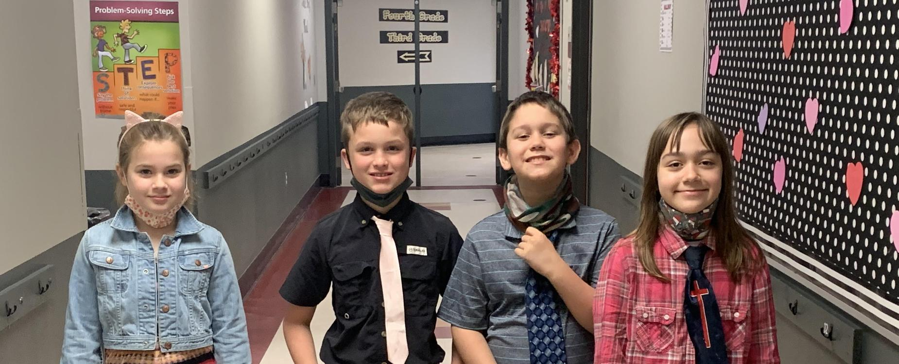 Ties for kindness week
