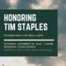 Celebration of Life for Tim Staples