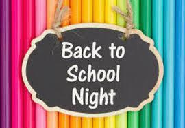 Back to School Night is this Thursday, September 10th Featured Photo