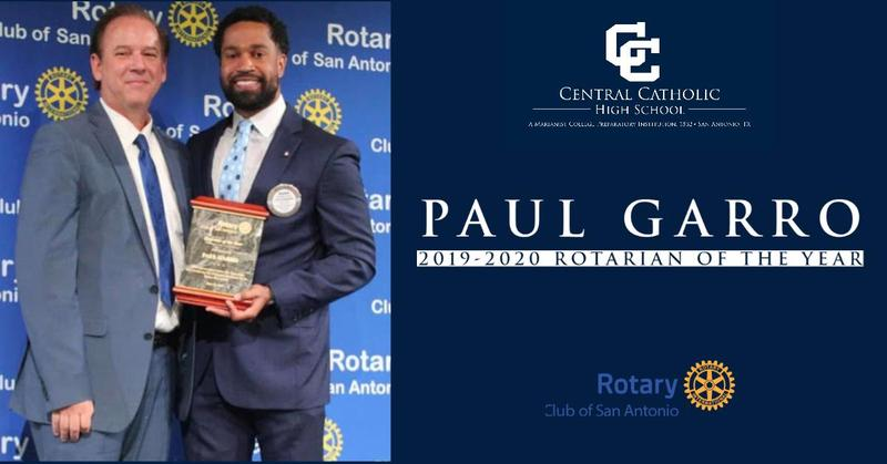 Paul Garro - Rotarian of the Year