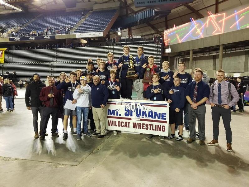 Mt. Spokane Wrestling State Photo