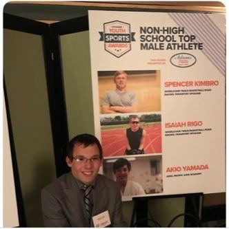 ISAIAH RIGO - SPOKANE NON-HS BOYS ATHLETE OF THE YEAR! Thumbnail Image