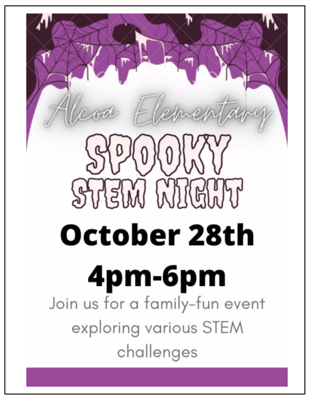 SPOOKY STEM NIGHT- October 28th Featured Photo
