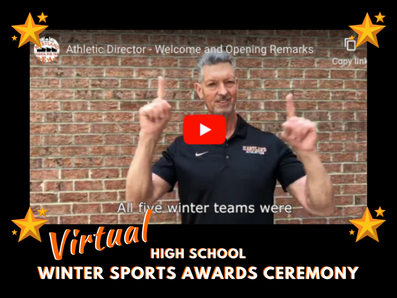 Virtual Winter Awards Ceremony Featured Photo