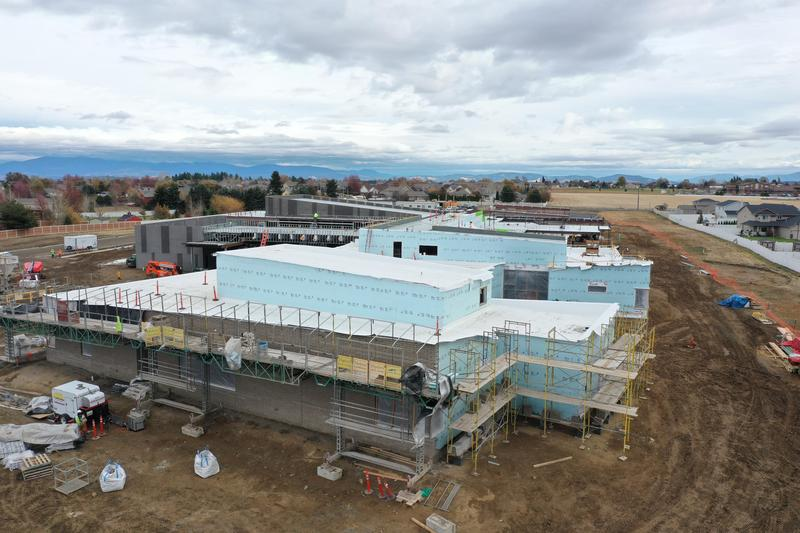 Photo of Skyline Elementary Construction