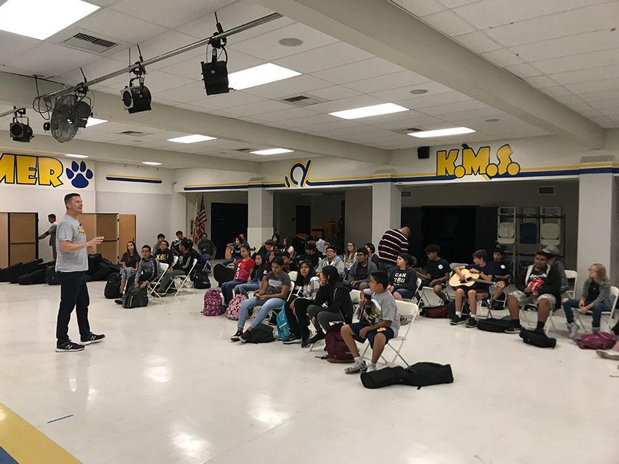 Guitar Club at Kraemer Middle School