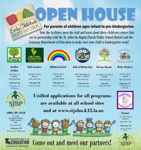Community Network open houses