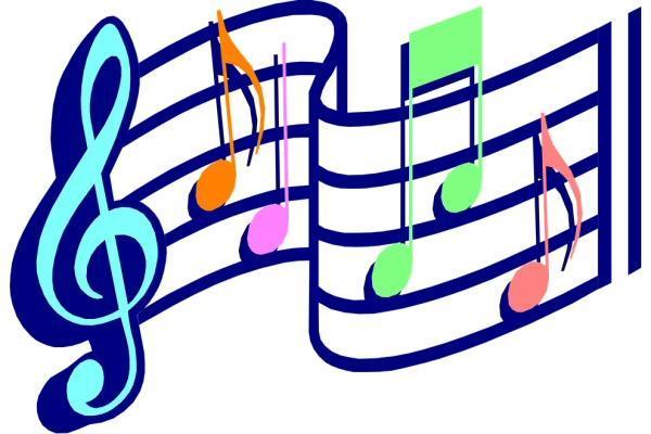 Wavy musical notation