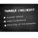 Summer Checklist Flyer