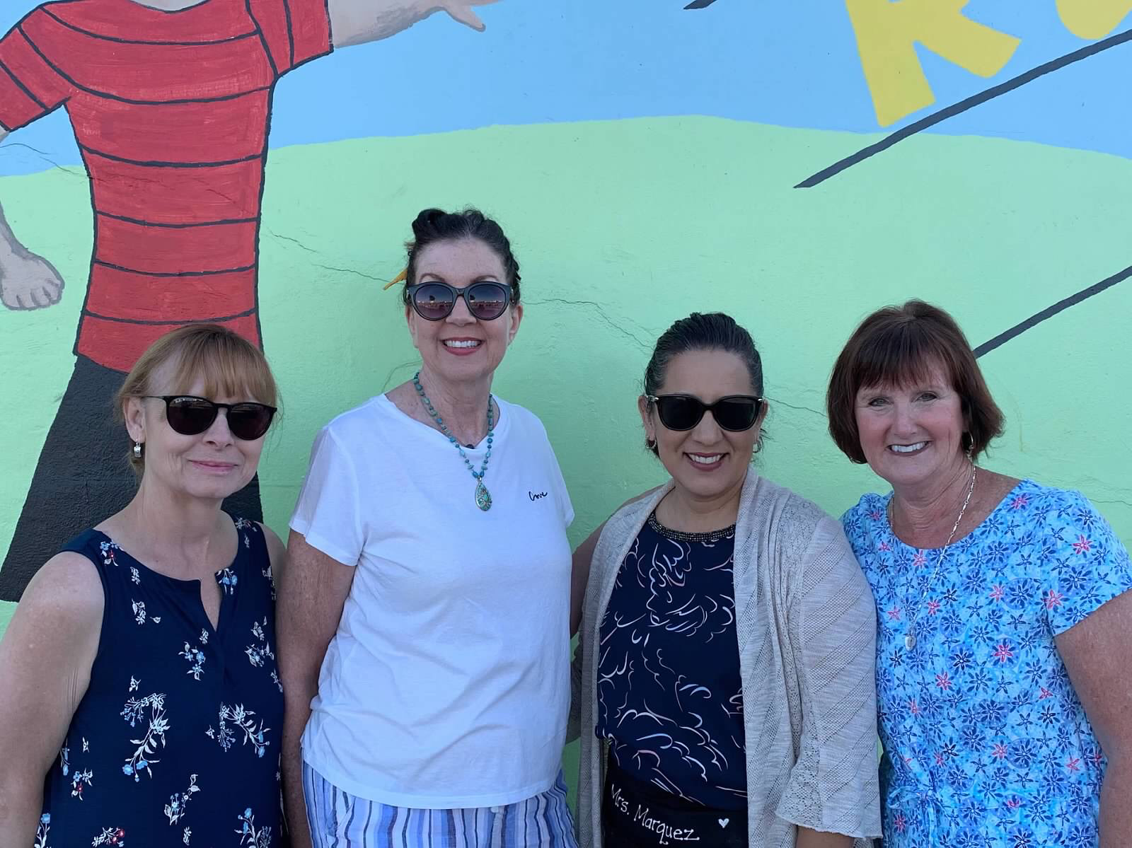 Picture of Kindergarten teachers at Scott Avenue