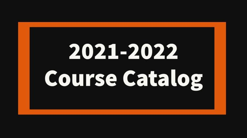 2021-2022 Course Catalog Featured Photo