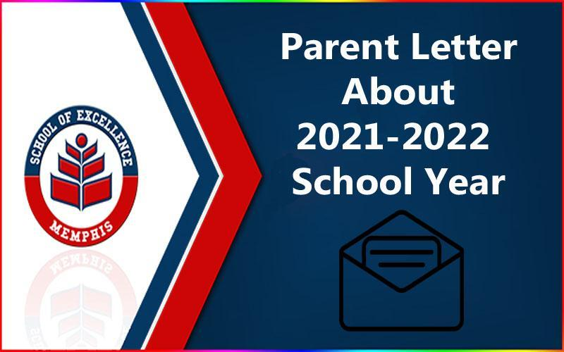 Parent Letter for 2021-2021 Academic Year