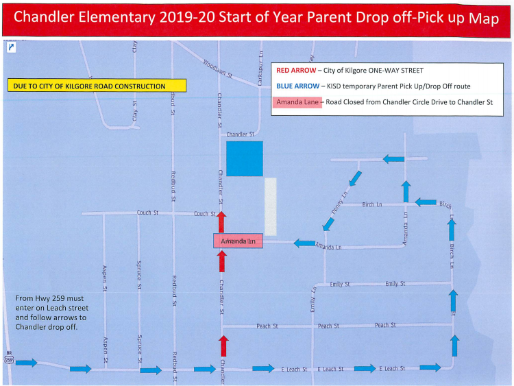 Chandler Elementary Pickup and Drop-Off Featured Photo