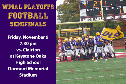 OLSH Football Advances to WPIAL Semi Finals for First Time in School History Featured Photo