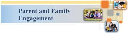 PARENT AND FAMILY ENGAGEMENT Thumbnail Image