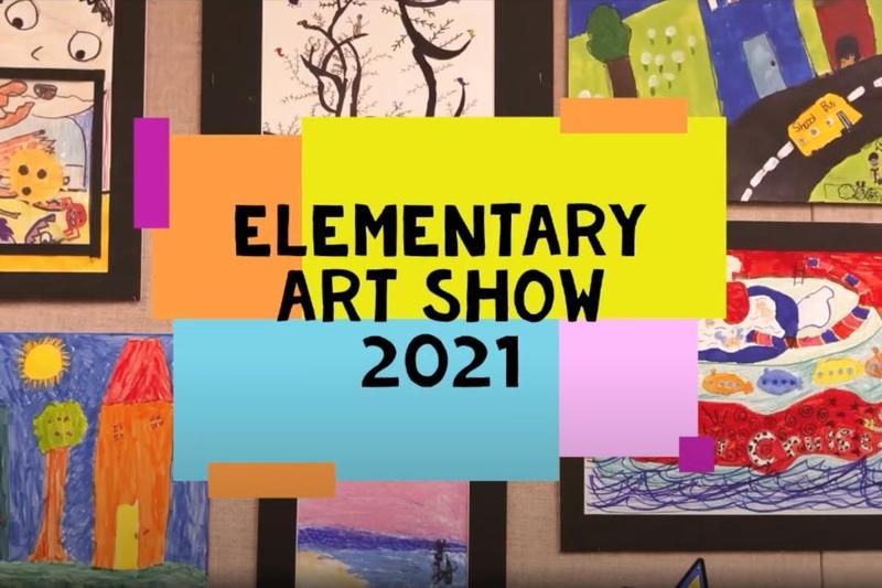 2021 Art Show Cover