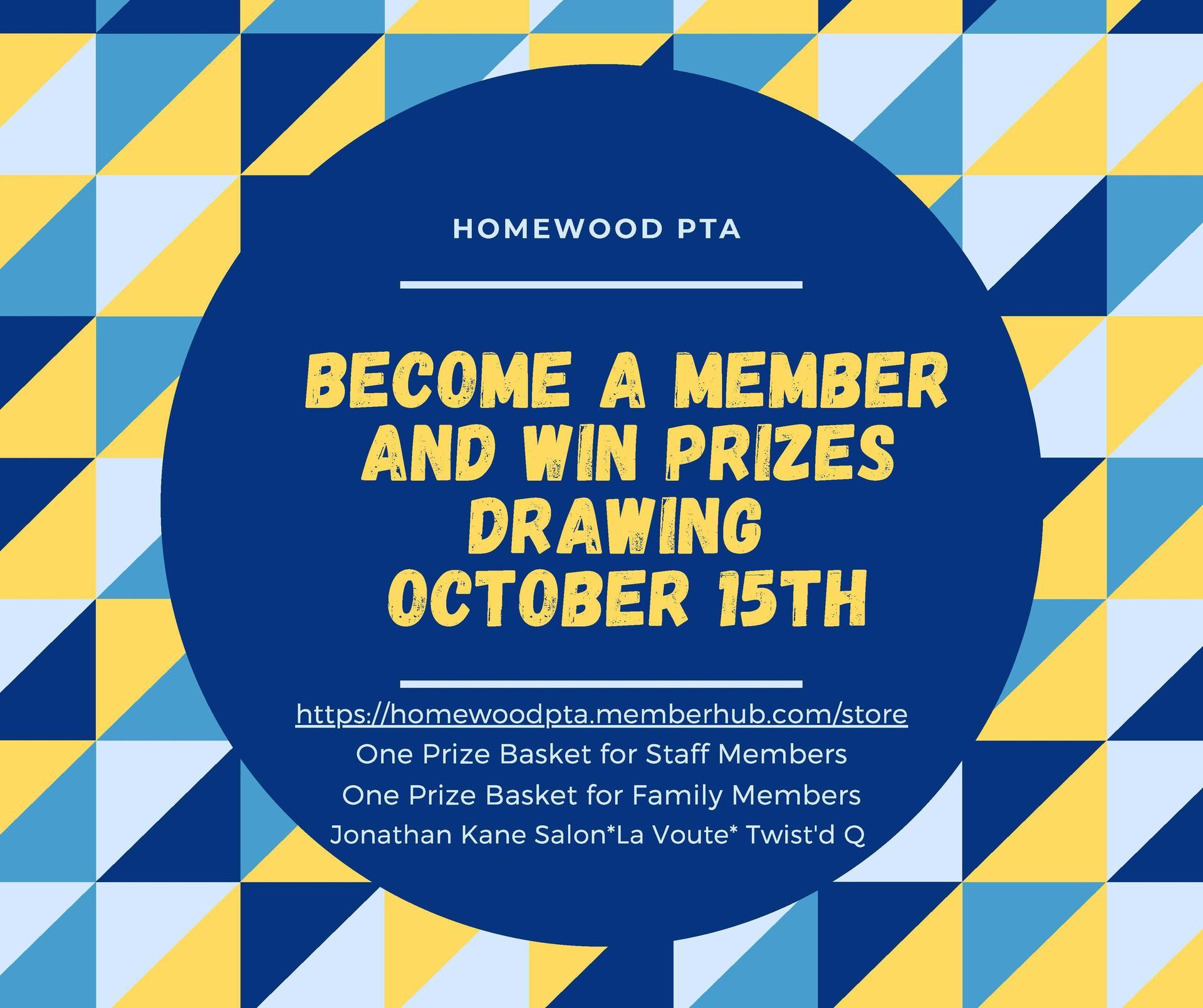PTA membership raffle