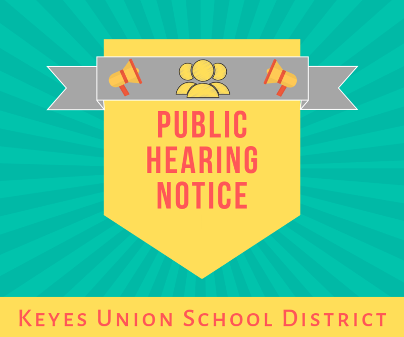 Notice of Public Hearing Featured Photo