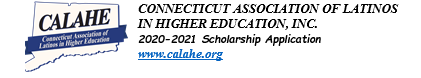 CONNECTICUT ASSOCIATION OF LATINOSIN HIGHER EDUCATION, INC. SCHOLARSHIP Thumbnail Image