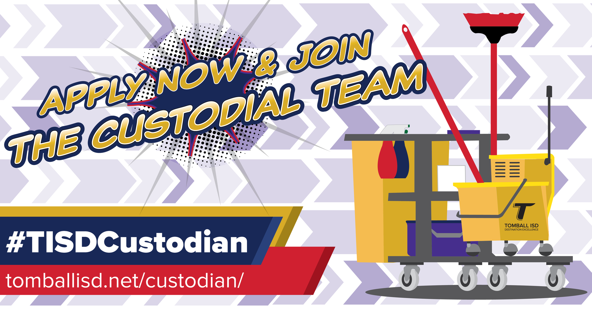 Apply now and join the custodial team