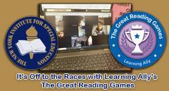 NYI participates in Learning Ally's  The Great Reading Race