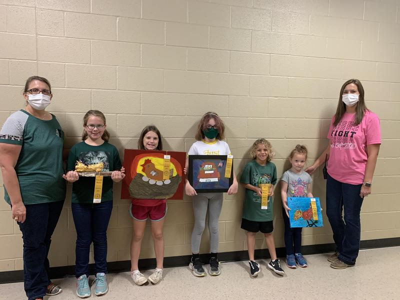 Congratulations RRE Art Students and Mrs. Smith for State Fair Awards Thumbnail Image
