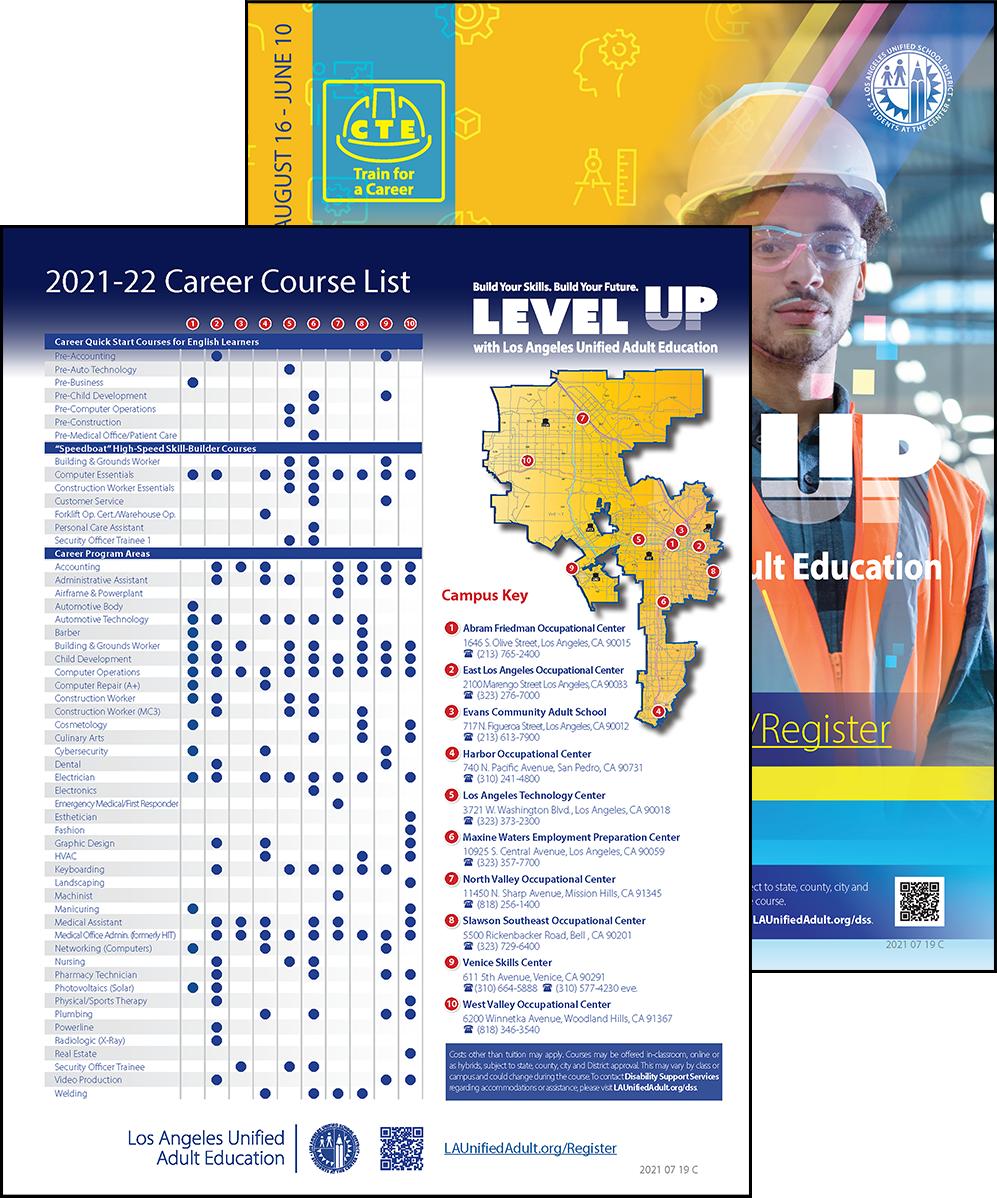 Career Technical Education Flyer - Program Area - Cover 02