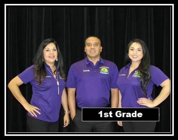 First Grade Staff