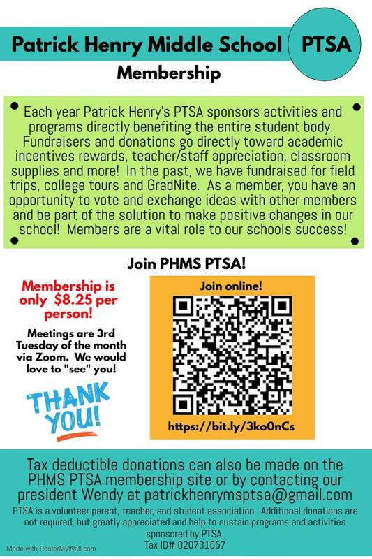 PTSA Membership Drive Featured Photo