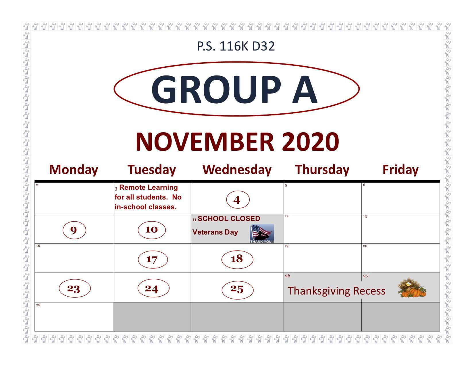 Group A November