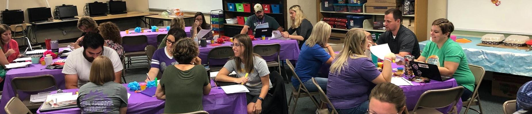 ES Teachers prepping for first day