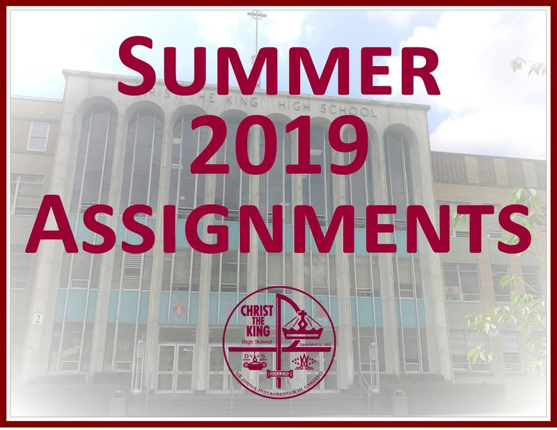 Summer 2019 Assignments Featured Photo