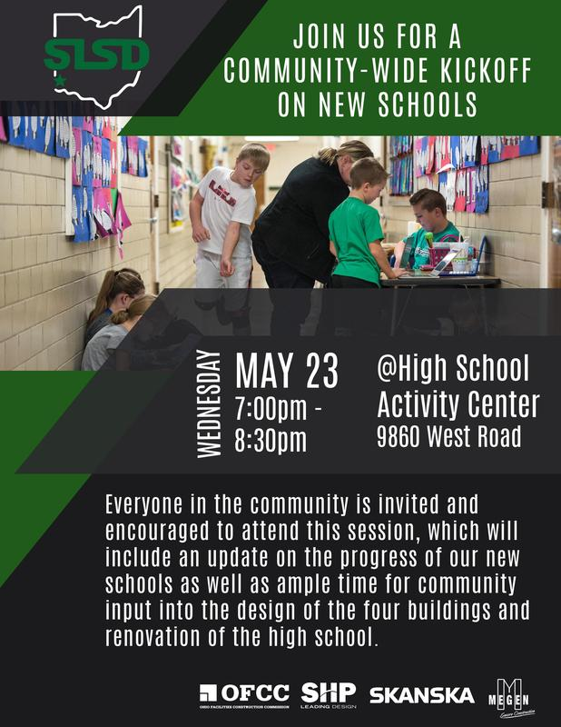 All Are Invited to May 23 Kick-off for Community Input on New Schools Thumbnail Image