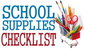 8th Grade Supply List Featured Photo