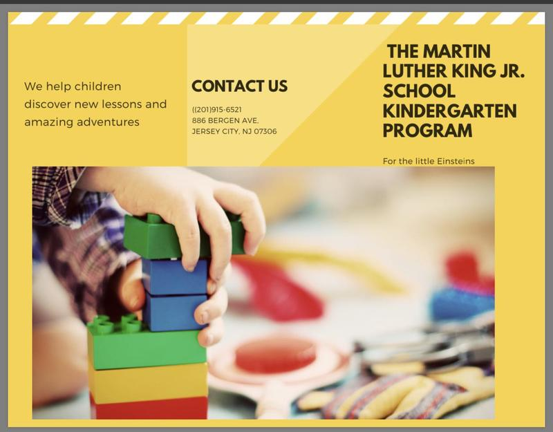 Welcome to Martin L. King, Jr. P.S.#11's Kindergarten department. Featured Photo