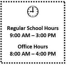 bell schedule announcement
